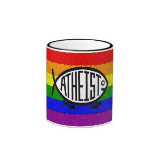 Homosexueller Atheist Ringer Tasse
