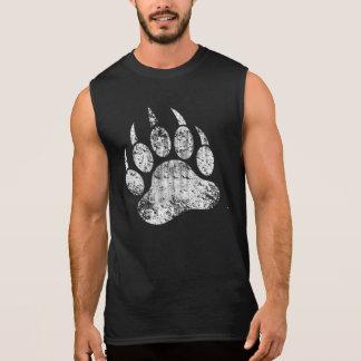 Homosexueller Bärn-Stolz beunruhigte Bärenpranke Ärmelloses Shirt