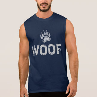 Homosexueller Bärn-Stolz beunruhigter Bärenpranke Ärmelloses Shirt