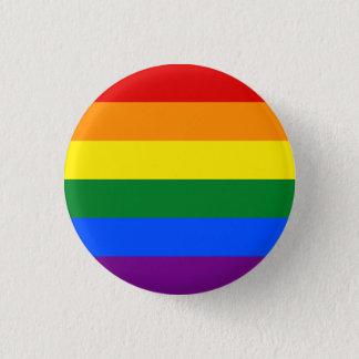 Homosexueller Flaggen-Knopf Runder Button 3,2 Cm