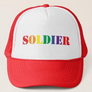 HOMOSEXUELLER Soldat HUT! Truckerkappe