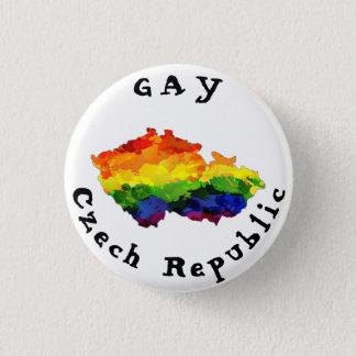 HOMOSEXUELLES Tschechische Republik-Abzeichen Runder Button 2,5 Cm