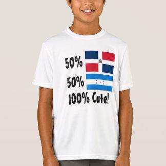 Honduraner 100% 50% Dominikaner-50% niedlich T-Shirt