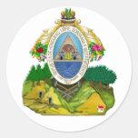 Honduranisches Wappen Honduras-Emblems Aufkleber