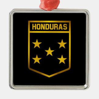 Honduras-Emblem Silbernes Ornament
