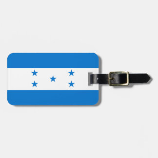 Honduras-Flagge Kofferanhänger