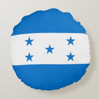 Honduras-Flagge Rundes Kissen
