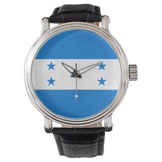 Honduras-Flagge Uhr