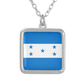 Honduras-Flagge Versilberte Kette