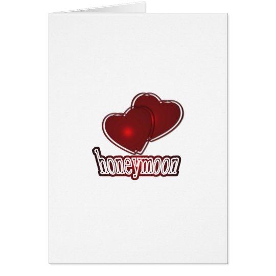 Honeymoon Karte
