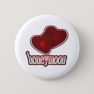 Honeymoon Runder Button 5,7 Cm