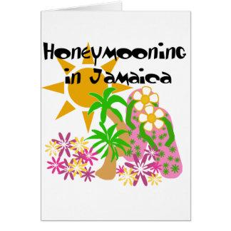 Honeymooning in Jamaika Karte