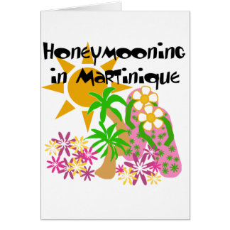 Honeymooning in Martinique Karte