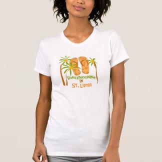 Honeymooning in St Lucia T-Shirt