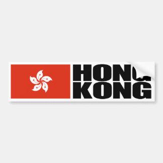 Hong Kong-Flagge Autoaufkleber