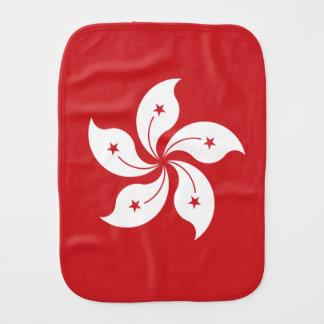 Hong Kong-Flagge Spucktuch