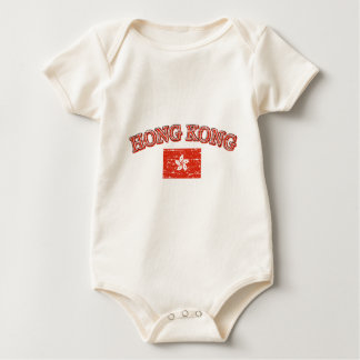 Hong Kong-Fußballentwurf Baby Strampler