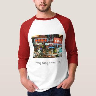 Hong Kong ist die kühle Weise T-Shirt