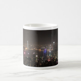 Hong Kong-NachtSkyline Kaffeetasse