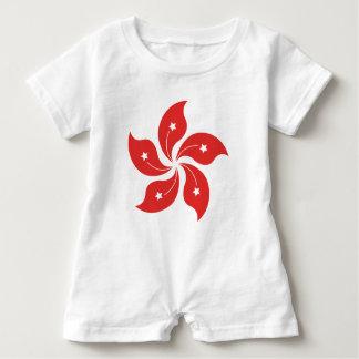 Hong Kong (rot) Baby Strampler