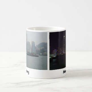 Hong Kong-Skyline Kaffeetasse