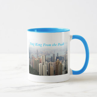 Hong Kong von der Spitze Tasse