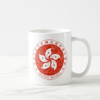Hong Kong-Wappen Kaffeetasse