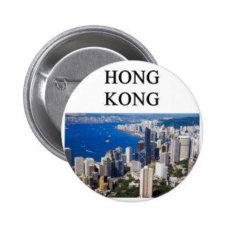 Hong- Kongentwurf Runder Button 5,7 Cm