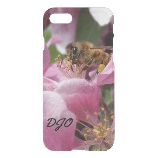 Honig-Biene Crabapple Blüte nahes hohes iPhone 8/7 Hülle