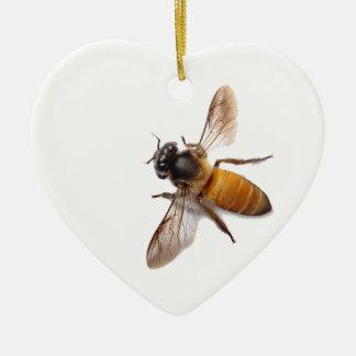 Honig-Biene Keramik Ornament