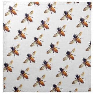 Honig-Biene Stoffserviette