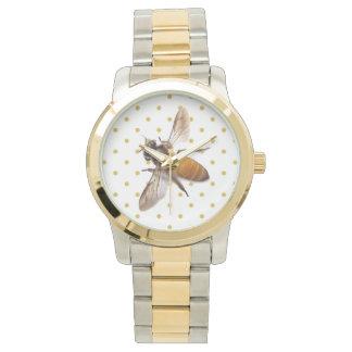 Honig-Biene Uhr