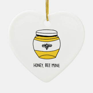 Honig, Bienen-Bergwerk Keramik Ornament