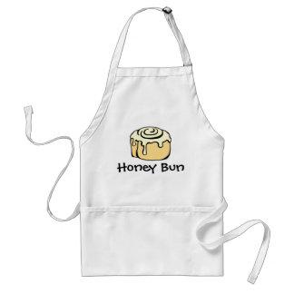 Honig-Brötchen-Zimtgebäck-niedlicher Schürze