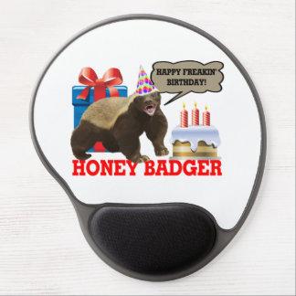 Honig-Dachs glücklicher Freakin Geburtstag Gel Mousepad