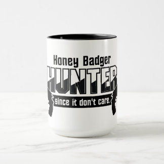 Honig-Dachs-Jäger-Tasse - wählen Sie Art u. Farbe Tasse