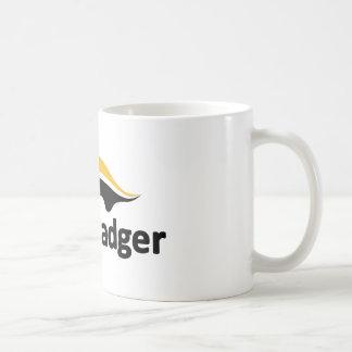 Honig-Dachs-Logo Kaffeetasse