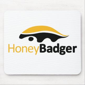 Honig-Dachs-Logo Mousepad