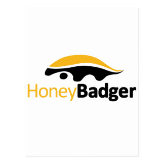 Honig-Dachs-Logo Postkarten