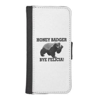 Honig-Dachs-Tschüss Felicia iPhone SE/5/5s Geldbeutel
