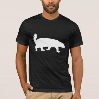 Honig-Dachs-Weiß T-Shirt