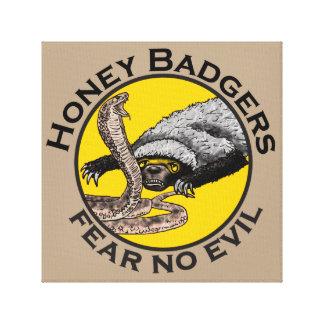Honig-Dachse 'befürchten kein evil Gespannte Galerie Drucke