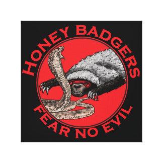 Honig-Dachse 'befürchten kein evil Gespannter Galeriedruck