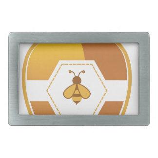 Honig-Glas Rechteckige Gürtelschnalle