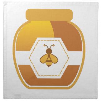 Honig-Glas Serviette