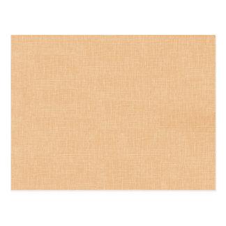 Honig-GoldImitat-Leinengewebe-strukturierter Postkarte