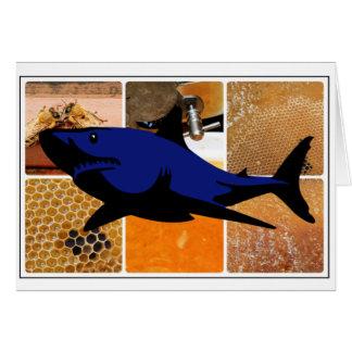 Honig-Haifisch Karte
