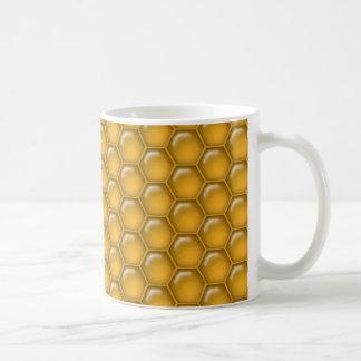 Honig-Kamm-Muster Kaffeetasse