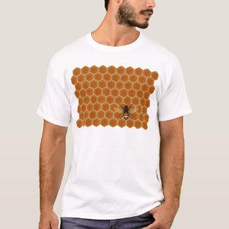 Honig-Kamm und Biene T-Shirt