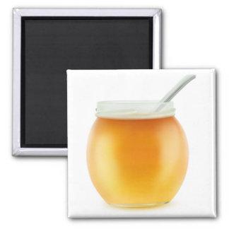 Honig Quadratischer Magnet